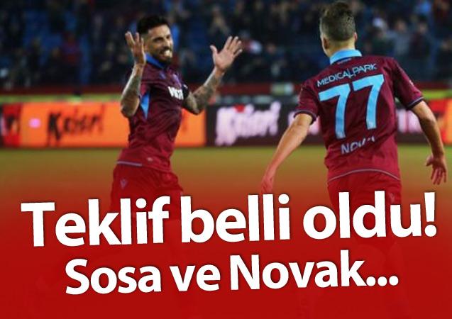 Sosa ve Novak'a yapılan teklif