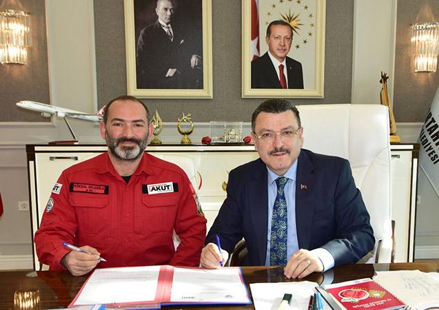 AKUT Trabzon'da 19 bin öğrenciyi eğitecek