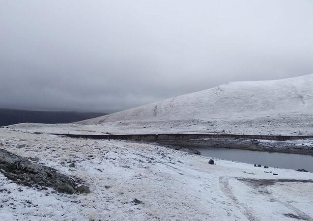 Bayburt'ta karla karışık yağmur bekleniyor