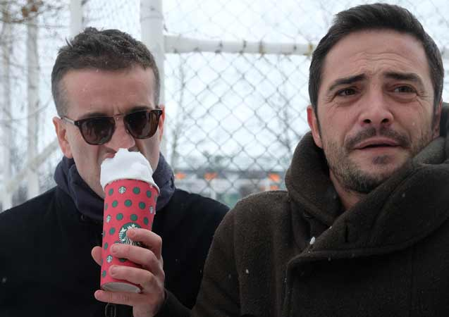 Murat Cemcir ile Ahmet Kural'ın büyük kar savaşı