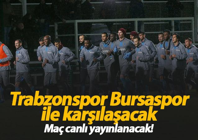 Trabzonspor Bursaspor hazırlık maçı ne zaman, hangi kanalda?