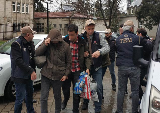 FETÖ'nün mahrem yapılanması operasyonunda 8 kişi adliyede