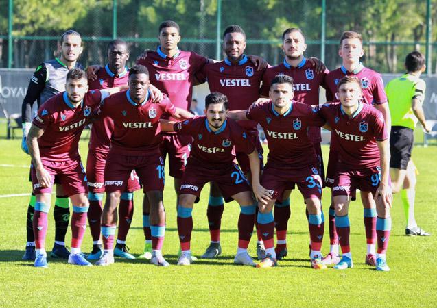 Trabzonspor'un ilk hazırlı maçında gol sesi çıkmadı