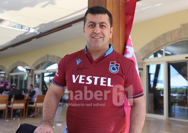 Trabzonspor'un barbekü partisinde dikkat çeken detay