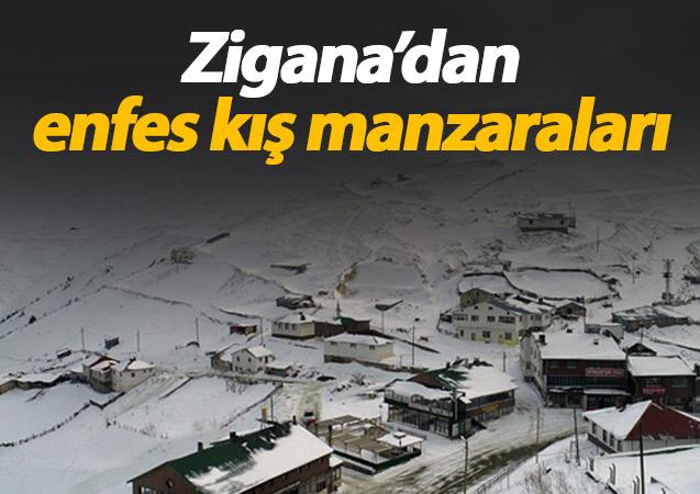Zigana'dan kış manzaraları