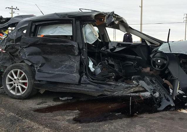 Aksaray'da kaza! Çok sayıda yaralı var