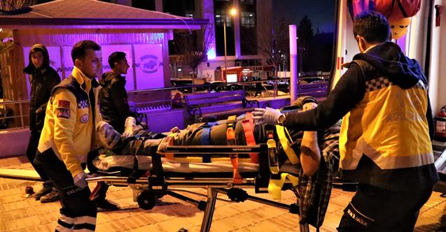 Burdur'da trafik kazası: 5 yaralı