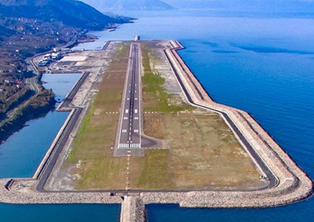Ordu-Giresun Havalimanı'nı 2019 yılında 1 milyon 63 bin kişi kullandı