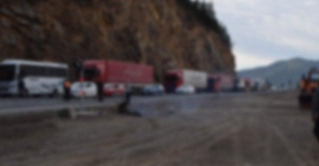 Trabzon'da bugün o yol kapalı