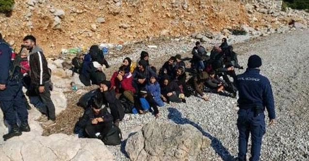 İzmir'de 171 göçmen daha yakalandı!
