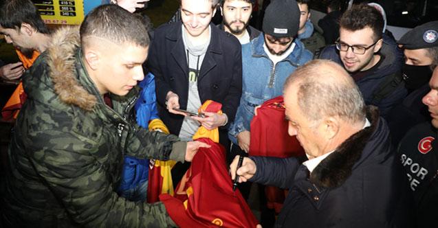 Galatasaray Trabzon'a gelip Rize'ye gitti