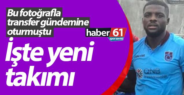 John Ogu imzayı attı! Trabzonspor ile adı anılmıştı...