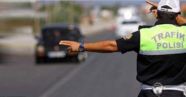 Trabzon'da sürücülere 761 bin lira ceza