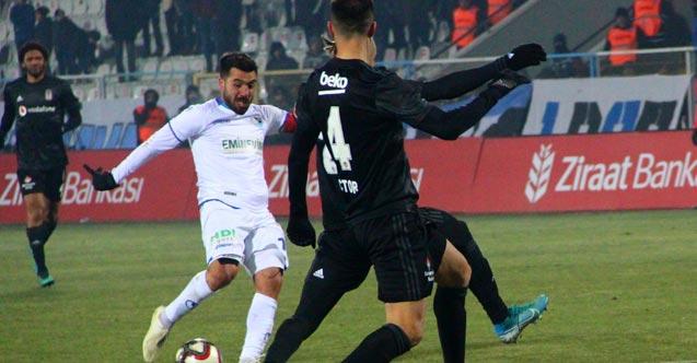 Erzurumspor kupada Beşiktaş'ı mağlup etti
