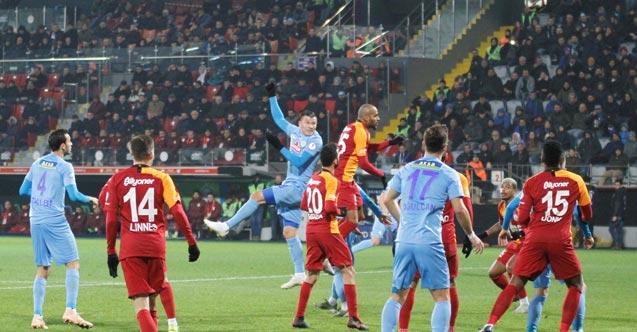 Rizespor Galatasaray ile berabere