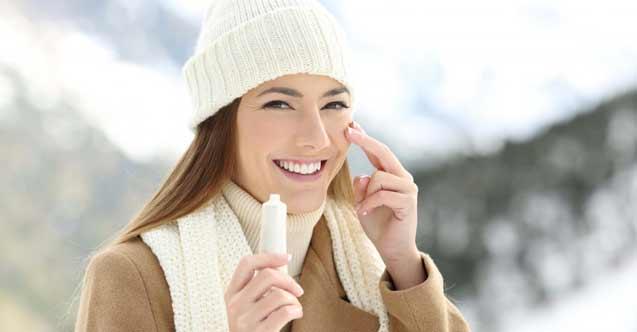 Soğuk havalarda cilt sağlığına dikkat!
