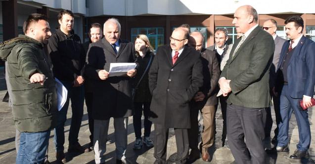 Trabzon'da söz verilen tesisin temeli atılıyor