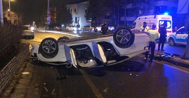 Ankara'da iki ayrı trafik kazası