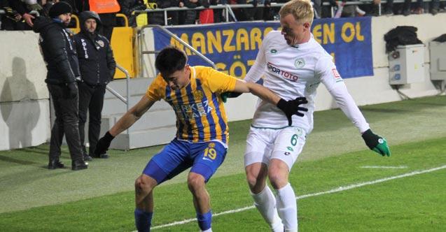 Ankaragücü Konyaspor maçının kazananı belli oldu