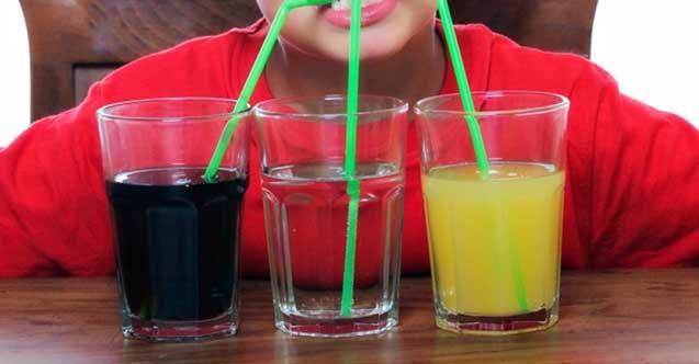 """""""Gazlı içecekler çocuklarda bağımlılık yapabilir"""""""