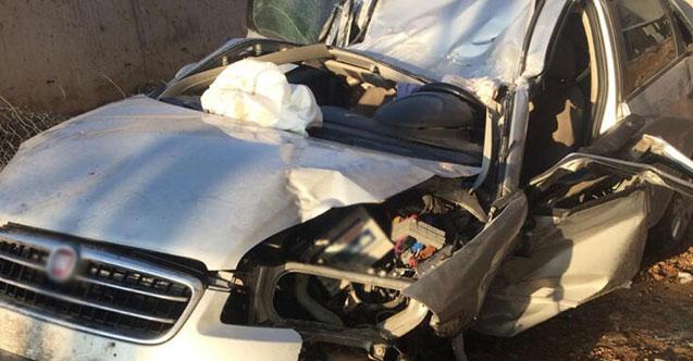 İnşaatın bahçesine devrilen otomobilin sürücüsü öldü