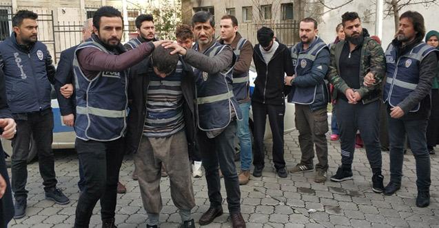 Vahşetin şüphelisi 12 Iraklı gözaltında