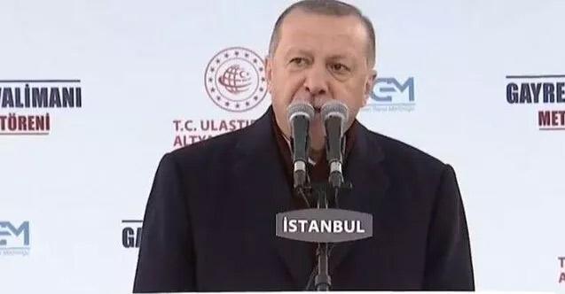 Erdoğan Kanal İstanbul'un maliyetini açıkladı!