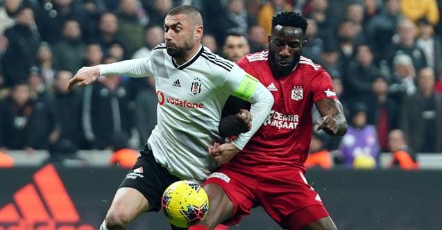 Beşiktaş Sivasspor maçında kazanan belli oldu