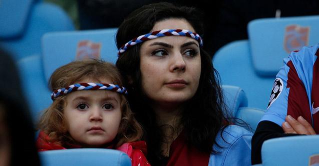 Trabzonspor'da alkışlar taraftara