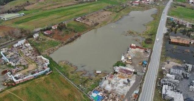 Başakşehir'de 2 milyona satılık göl!