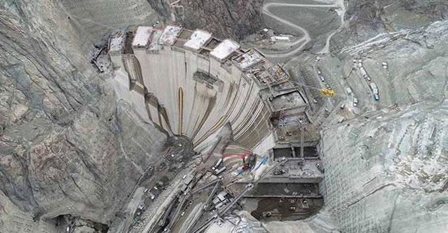 Yusufeli Barajı'nda son düzlüğe girildi