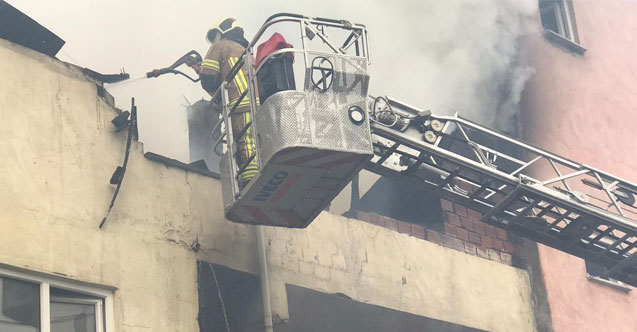 Bursa'da yangın...Yaşlı adam yanarak can verdi...
