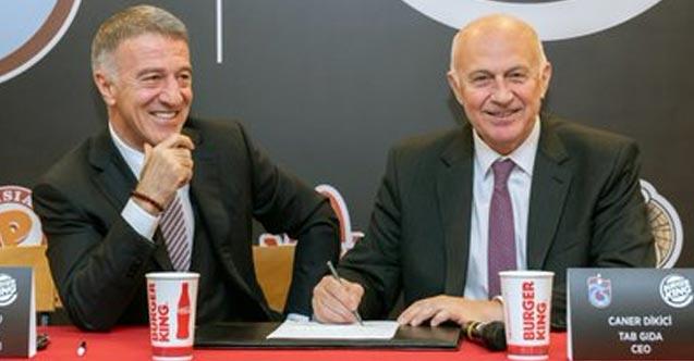 Trabzonspor sponsoru KAP'a bildirdi