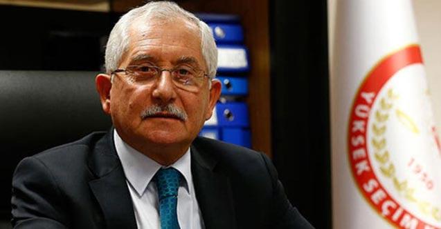 """YSK Başkanından yeni öneri - """"Oy zarfları kaldırılsın"""""""