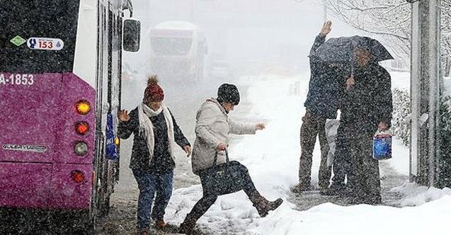 35 ile kar uyarısı