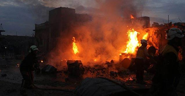 Rejim güçleri Sivilleri hedef aldı: 9 Ölü