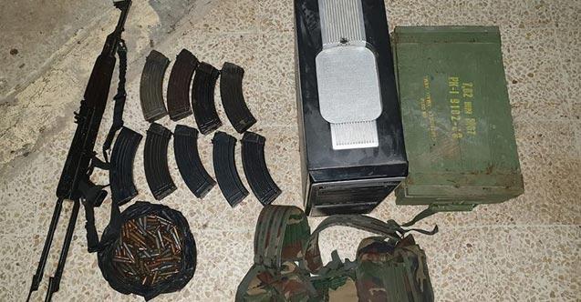 Tel Abyad'da eylem hazırlığındaki 4 PKK/YPG'li terörist yakalandı