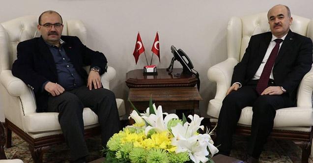 Trabzon Valisi Ustaoğlu'dan Vali Dağlı'ya ziyaret