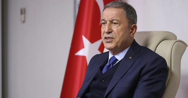 """Bakan Akar: """"Yunanistan uluslararası hukuka uygun davranmalı"""""""