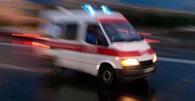Minibüs dereye devrildi: 6 yaralı