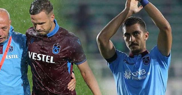 Trabzonspor'un iki yıldızı formalarına kavuştular