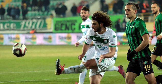 Bursaspor deplasmanda Akhisar'ı yendi