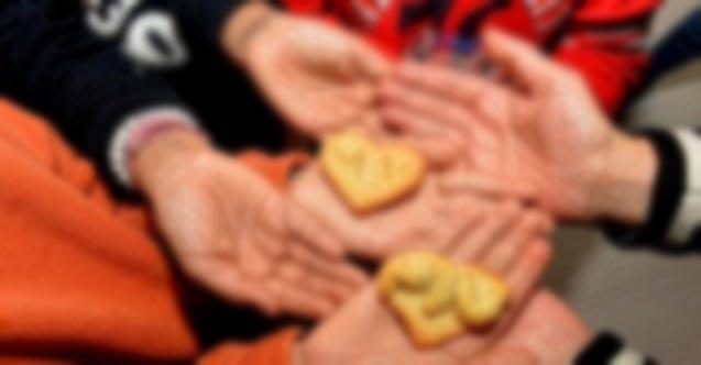 Çocuklar ekmek yapmayı oyunla öğreniyor