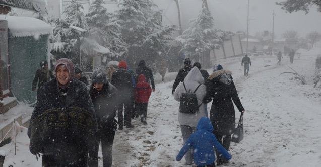 Ordu'da 273 kırsal mahalle yolu ulaşıma kapandı