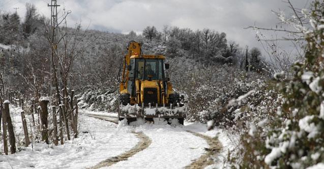 Kardan kapanan yollara müdahale
