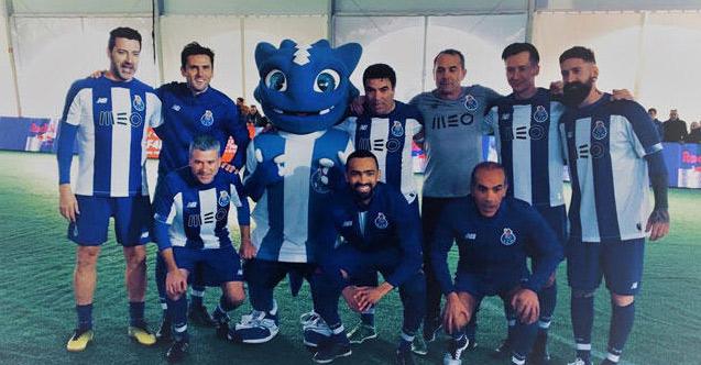 Eski Trabzonsporlular Porto formasında buluştu
