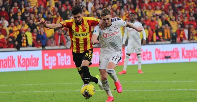 Göztepe Beşiktaş'ı yeni stadında mağlup etti