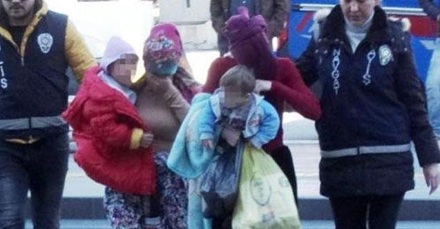 Hırsızlık yapan 2 kadın, cezaevine çocuklarıyla gitti!