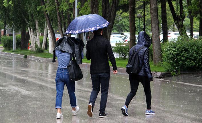 Karadeniz'in iki iline yağış uyarısı