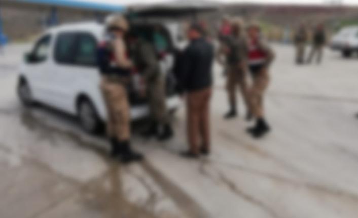 Trabzon'da jandarma denetleyip cezayı kesti